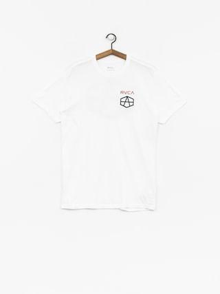 T-shirt RVCA Reynolds Hex (white)