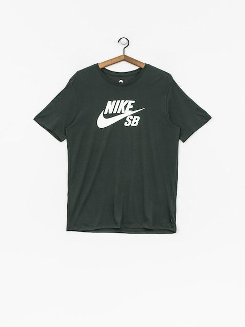 T-shirt Nike SB Sb Logo (midnight green/white)