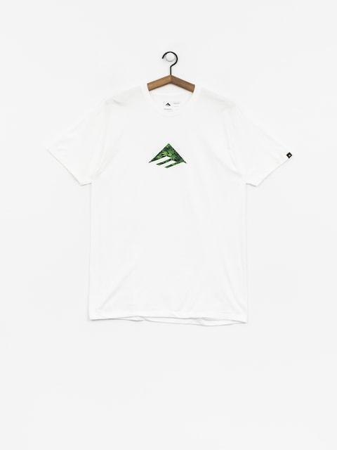T-shirt Emerica Emerica Triangle (white/green)