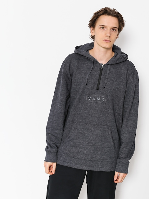 Bluza Vans Easy Box Qtr Zip (black heather)