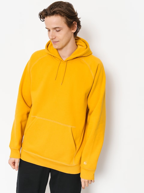Bluza z kapturem Carhartt WIP Chase HD (quince/gold)
