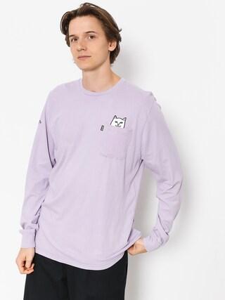 Longsleeve RipNDip Lord Nermal Pocket (lavender)