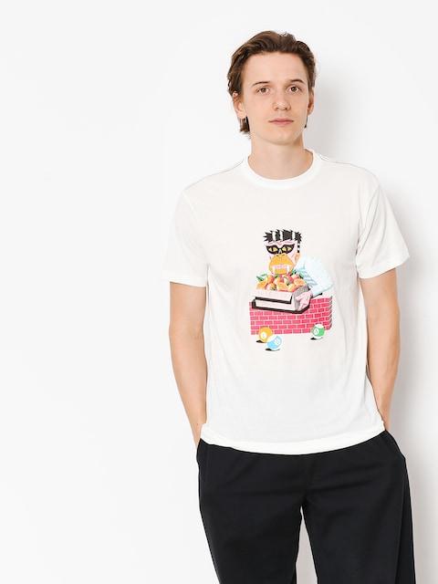 T-shirt RVCA Lp Gorilla (antique white)