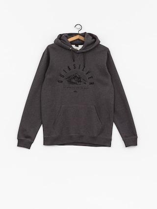 Bluza aktywna Quiksilver Big Logo Snow (black heather)