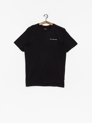 T-shirt RVCA Fletcher Skull (black)