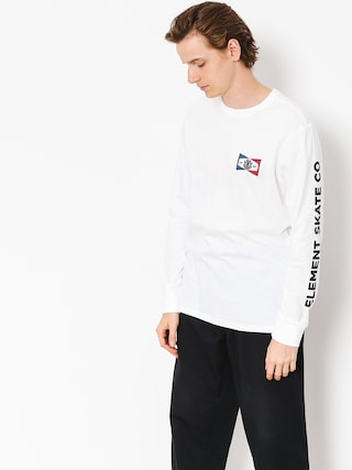 Longsleeve Element Segment (optic white)