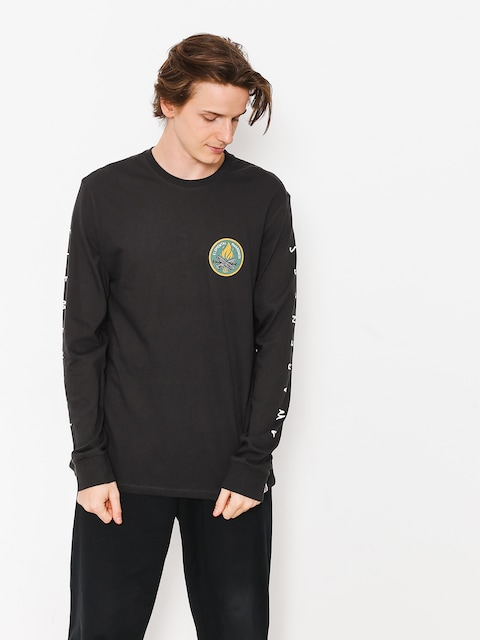 Longsleeve Element Ea Logo (off black)