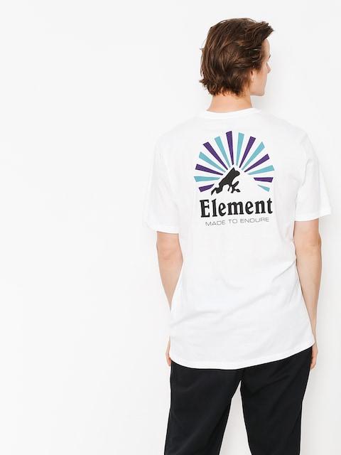T-shirt Element Rising (optic white)