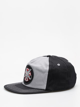 Czapka z daszkiem Independent x Thrasher Pentagram Cross Adj Snapback ZD (grey/black)
