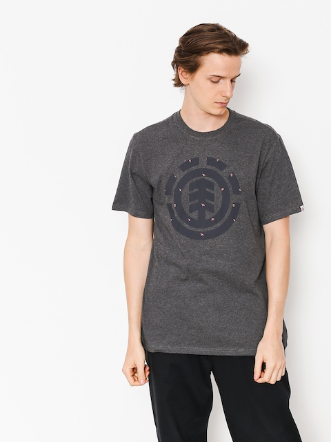 T-shirt Element Explorer Logo (charcoal heather)