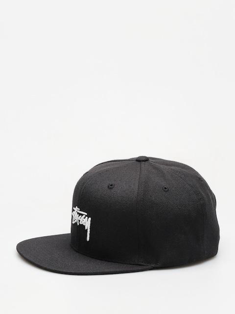 Czapka z daszkiem Stussy Stock Fa18 Cap ZD (black)