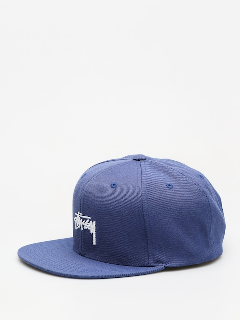 Czapka z daszkiem Stussy Stock Fa18 Cap ZD (blue)