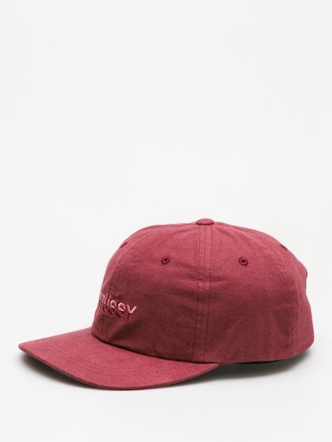 Czapka z daszkiem Stussy Two Tone Logo Low Pro HD (burgundy)