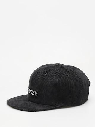 Czapka z daszkiem Stussy Washed Cord HD (black)