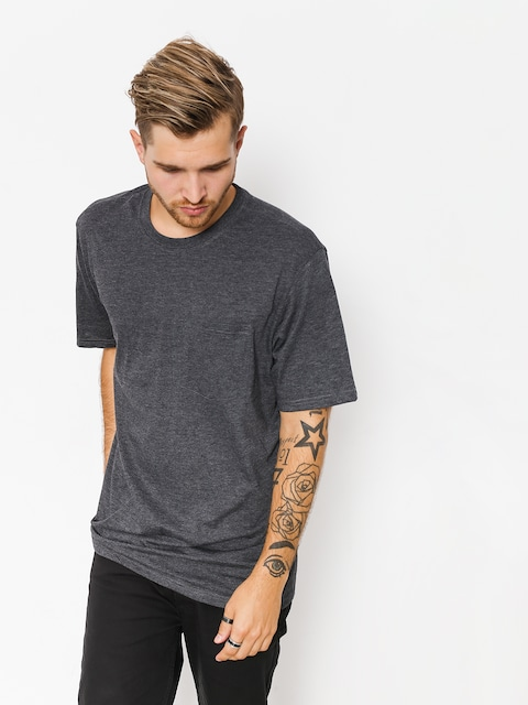 T-shirt Element Basic Pocket Cr (charcoal heather)