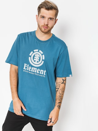 T-shirt Element Vertical (blue steel)