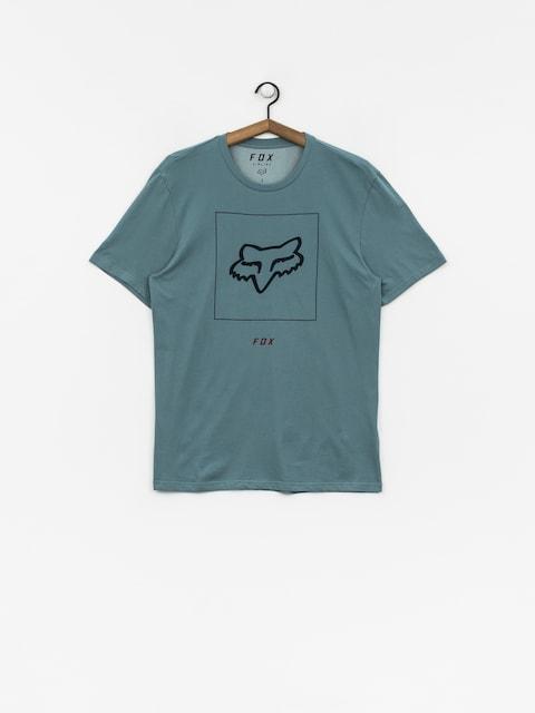 T-shirt Fox Crass (blu/gry)
