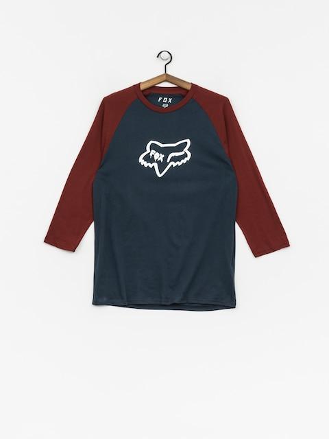 Longsleeve Fox Czar Head Premium Raglan (nvy/rd)