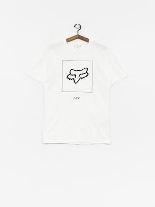 T-shirt Fox Crass (opt wht)