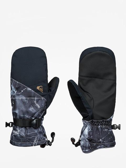 Rękawice Quiksilver Mission Mitt (tannenbaum black)