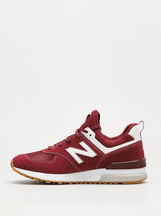 Buty New Balance 574 (burgundy)