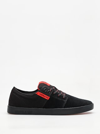 Buty Supra Stacks II (black/risk red black)