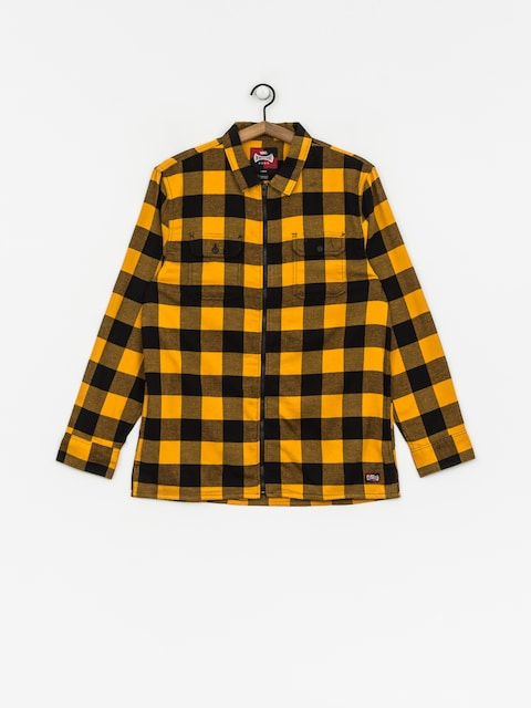 Koszula Vans X Independent Zip Flannel (sunflower)