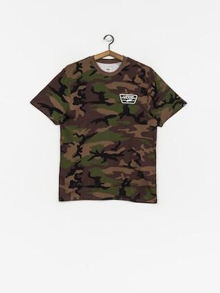 T-shirt Vans Full Patch Back (camo/white)