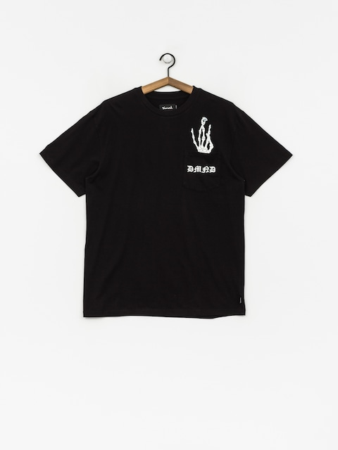 T-shirt Diamond Supply Co. Hand Signs Pocket (black)