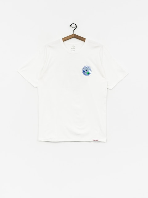 T-shirt Diamond Supply Co. Stampede (white)