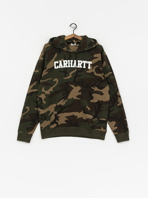Bluza z kapturem Carhartt WIP College HD (camo laurel/white)
