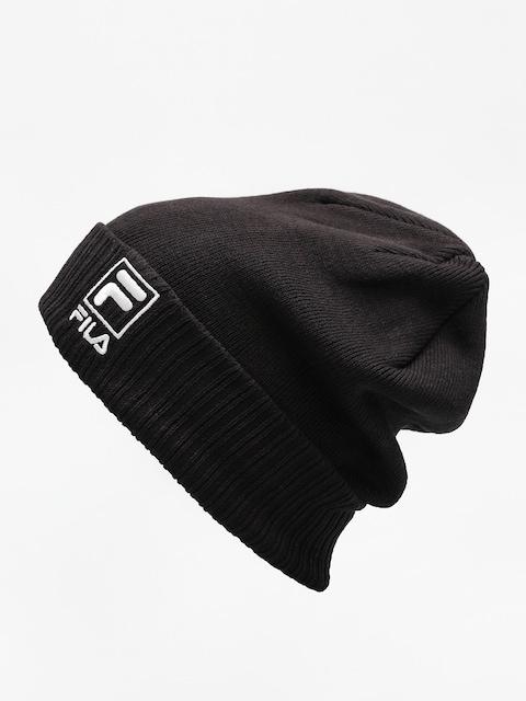 Czapka zimowa Fila Slouchy F Box Beanie (black)