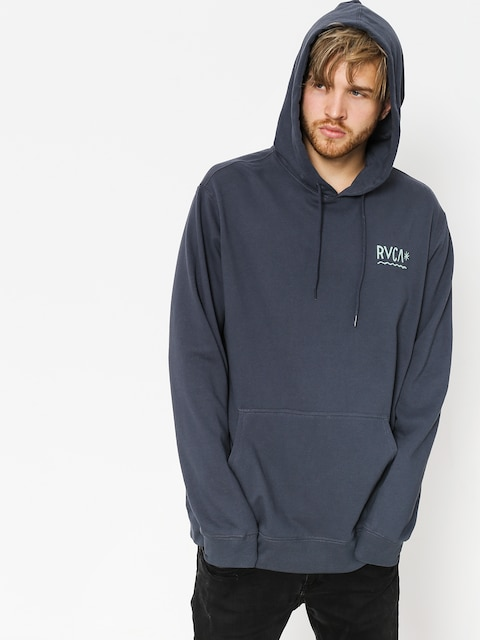 Bluza z kapturem RVCA Squig HD (oil grey)