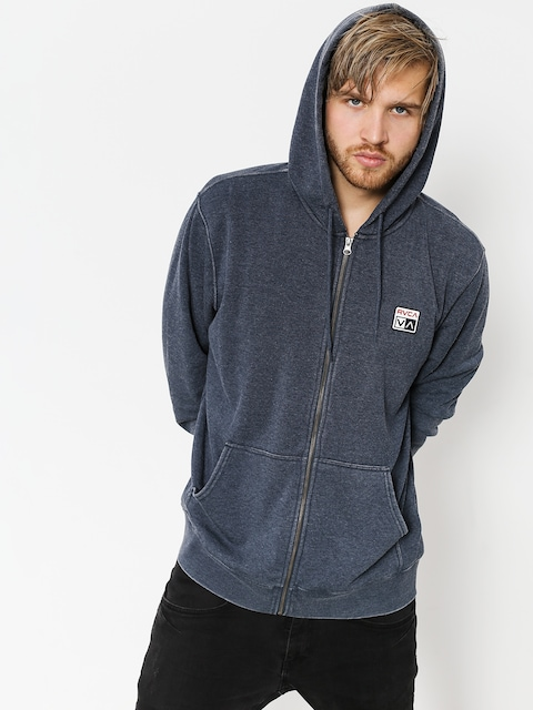 Bluza RVCA Foxhole Zip (denim heathr)