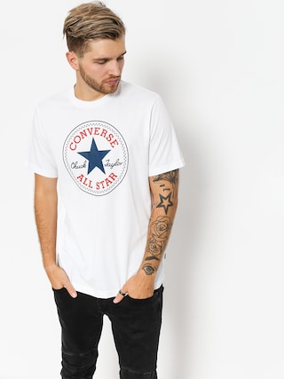 T-shirt Converse Chuck Patch (white)