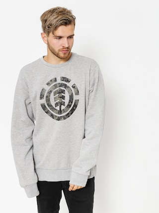Bluza Element Bark Logo Crew (grey heather)