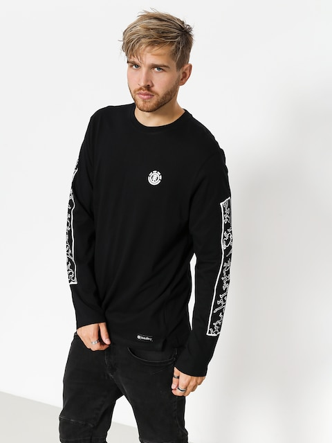 Longsleeve Element Kh Jump (flint black)