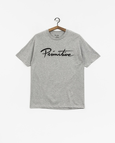 T-shirt Primitive Nuevo Pennant Core (grey heather)