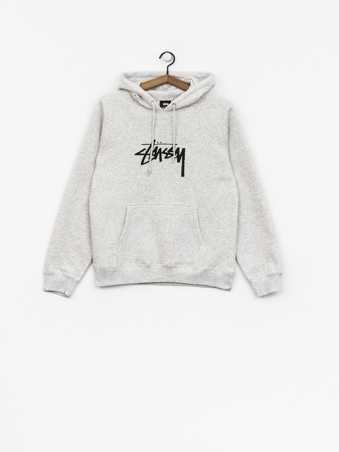 Bluza z kapturem Stussy Stock HD Wmn (ash heather)