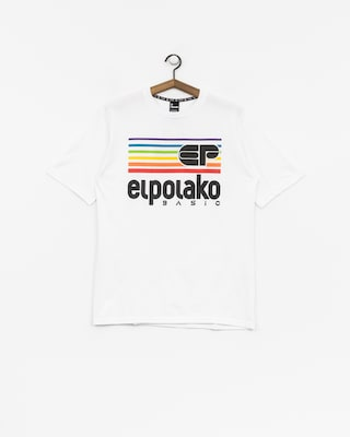 T-shirt El Polako Rainbow (white)