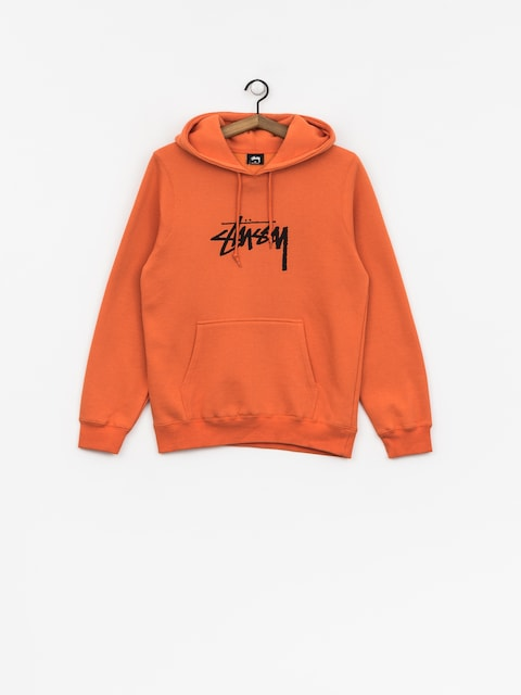 Bluza z kapturem Stussy Stock HD Wmn (rust)
