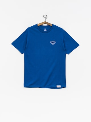 T-shirt Diamond Supply Co. Clockwork (royal blue)