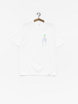 T-shirt Diamond Supply Co. No 1 Skatecore (white)