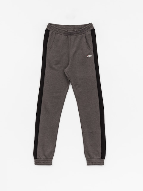 Spodnie Fila Crown Cuff Wmn (mid grey melange)