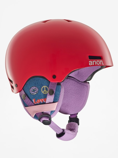 Dziecięcy kask Anon Rime (girl power red)