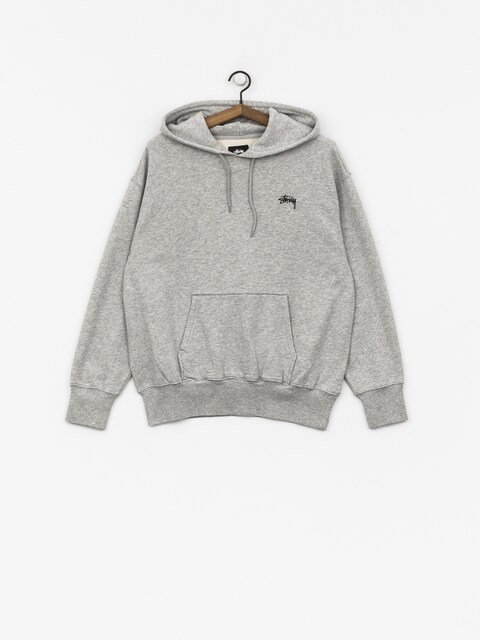 Bluza z kapturem Stussy Kira HD Wmn (grey heather)