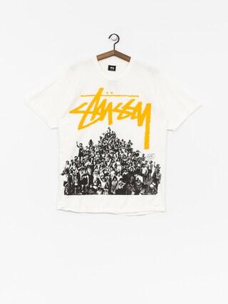 T-shirt Stussy Beach Mob Pig Dyed (natural/yellow)