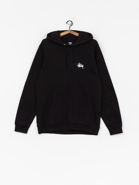 Bluza z kapturem Stussy Basic Stussy HD (black)