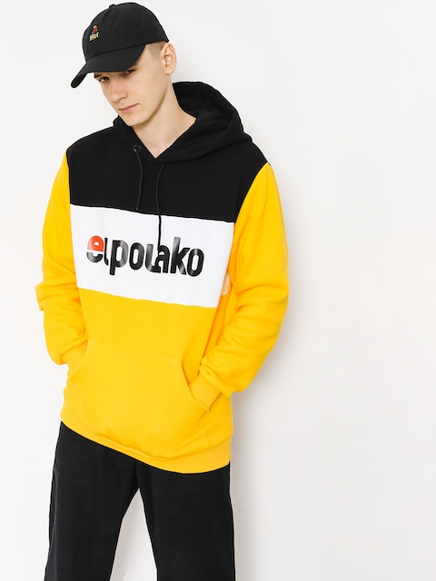 Bluza z kapturem El Polako Elpo New HD (yellow)
