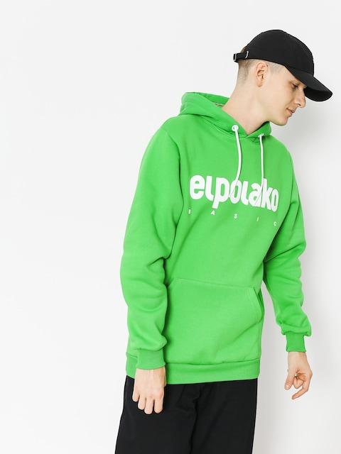Bluza z kapturem El Polako Classic HD (green)